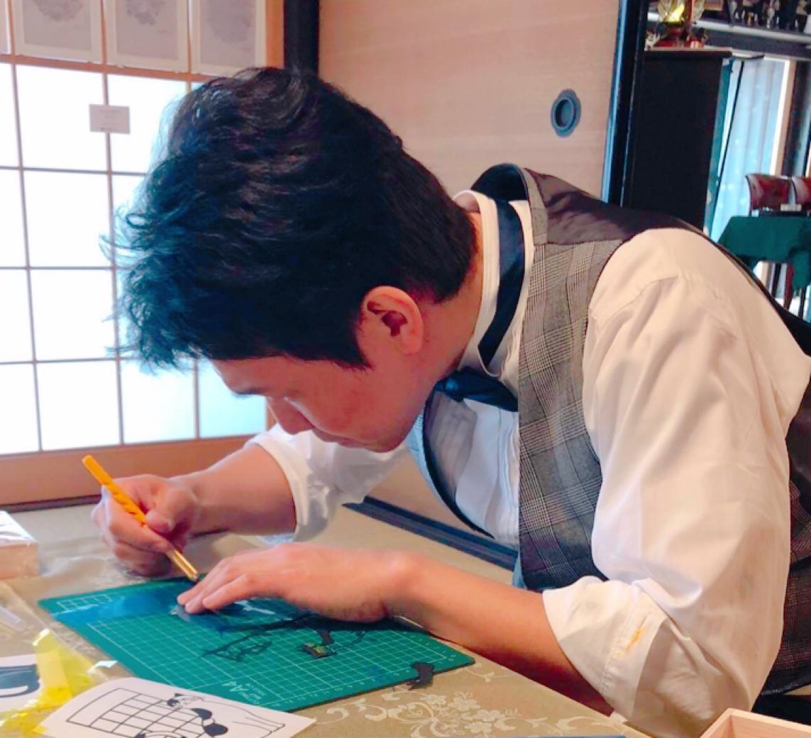点が線を為す時。濱谷宗慎 初個展『天地陰陽』